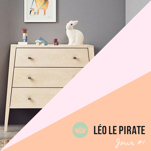 Happy B-Day # 1 – Léo le Pirate