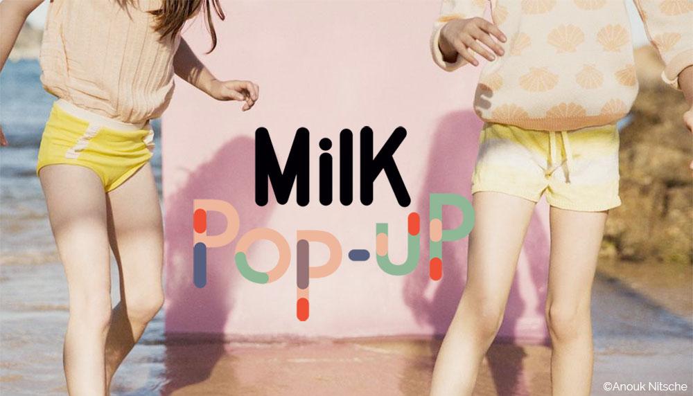 Pop up Store Milk au salon Playtime