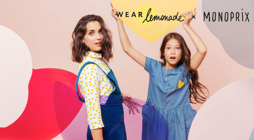 Wear Lemonade x Monoprix