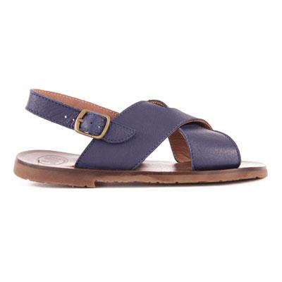 Sandales Cuir Croisées