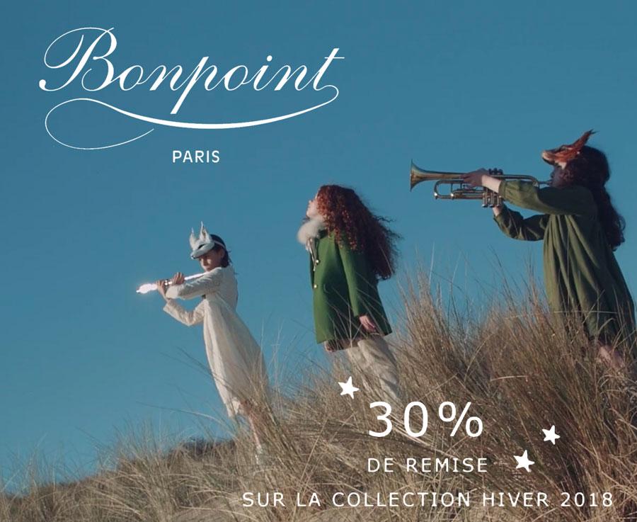 Bonpoint Ventes privées : -30% sur toute la collection