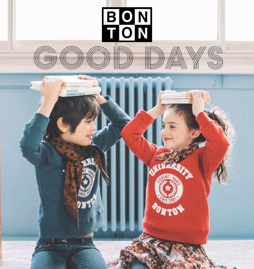 Bonton Good Days : -30 % à -50% sur la collection