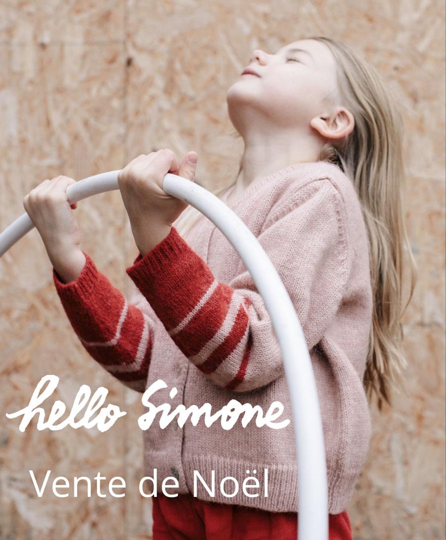 Vente de Noël Hello Simone