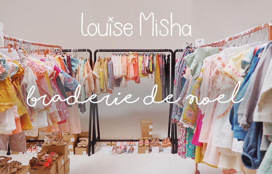 Braderie de Noël Louise Misha