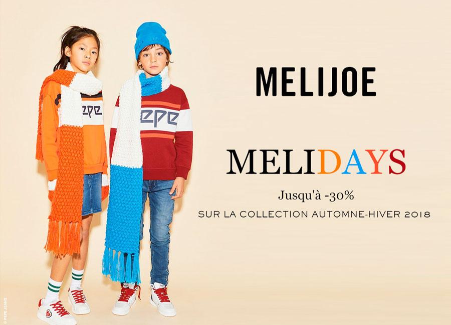 Les Melidays : jusqu'à -30% chez Melijoe