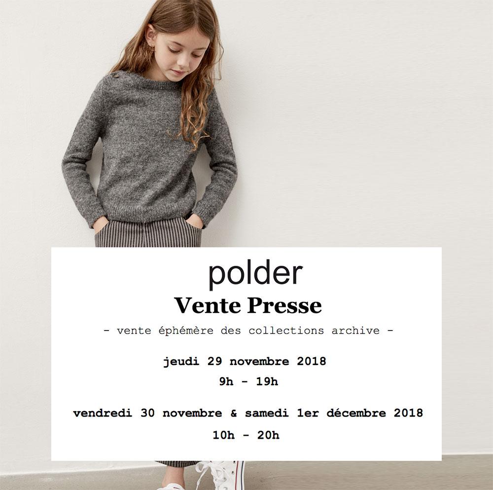 Vente presse Polder / Polder Girl