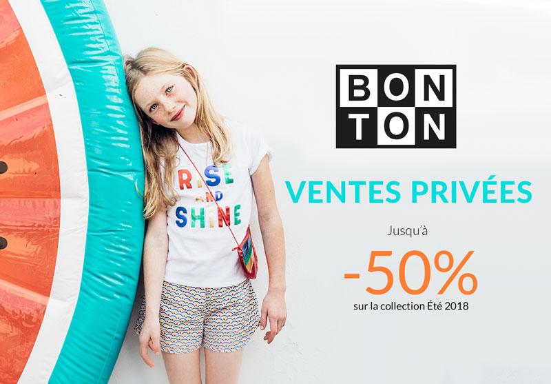 Vente privée Bonton