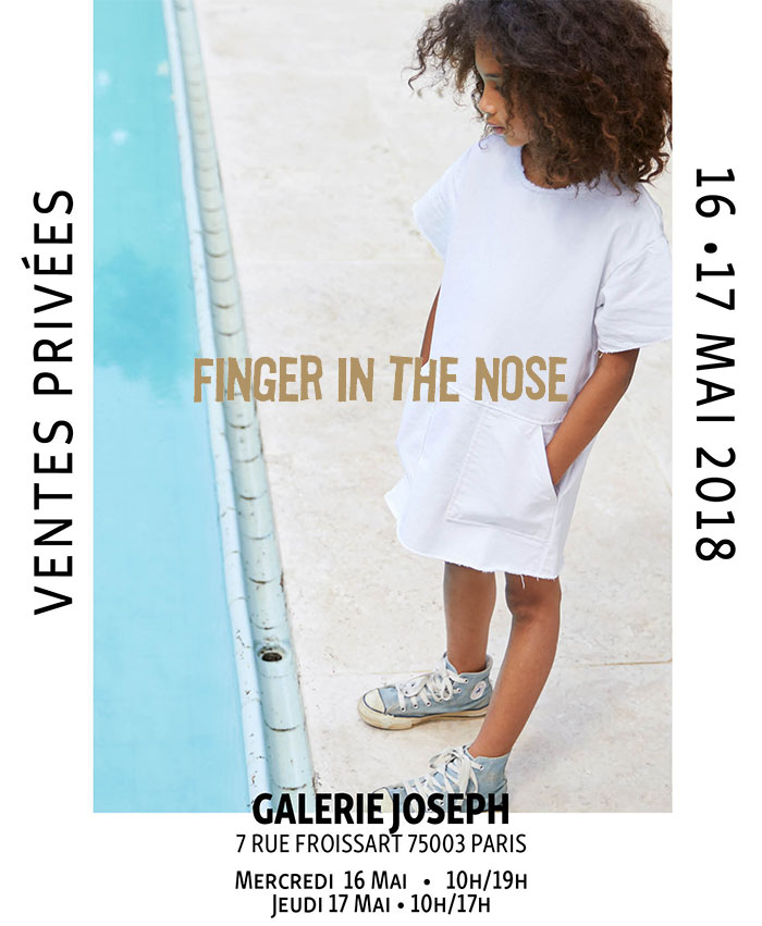Vente privée Finger in the nose