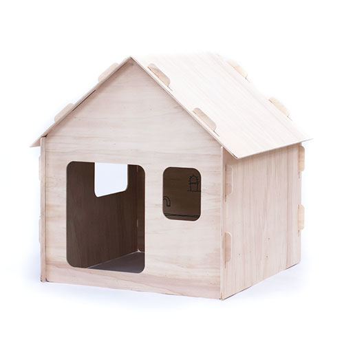 Petite maison en bois Naturel