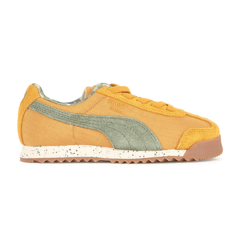 Baskets en toile Puma moutarde