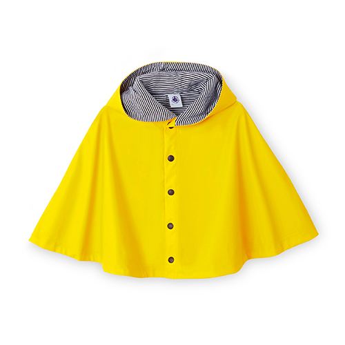 Cape jaune imperméable