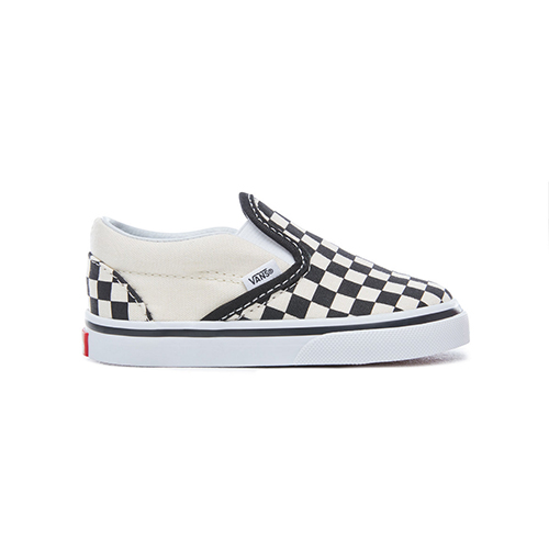 Chaussures enfants checkerboard Slip-on