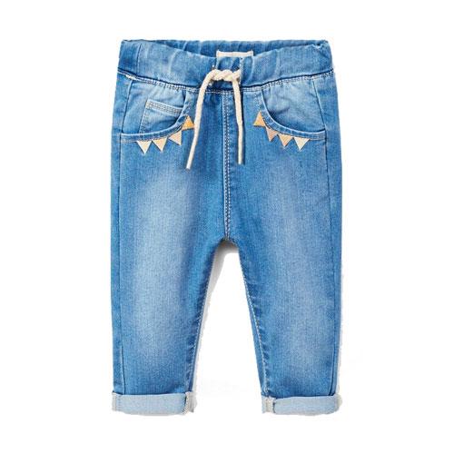 Jeans brodé