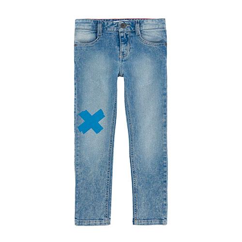 Jeans slim Fit croix