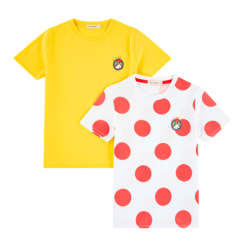 Lot de t-shirts cyclistes