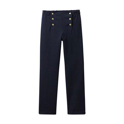 Pantalon à pont navy