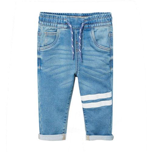Pantalon bébé 2 rayures