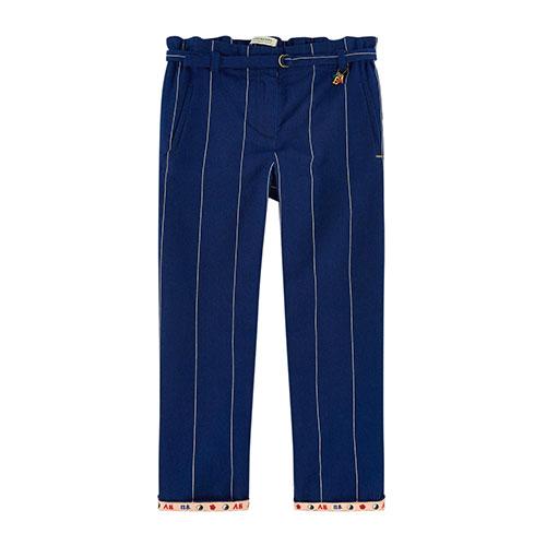Pantalon droit rayé