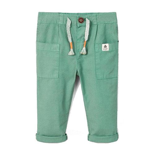 Pantalon texturé à poches