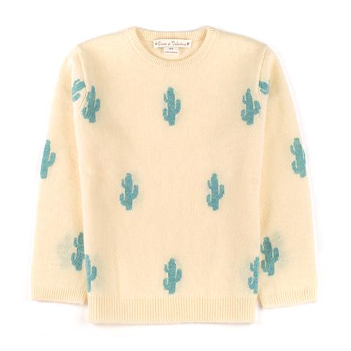 Pull cachemire Cactus