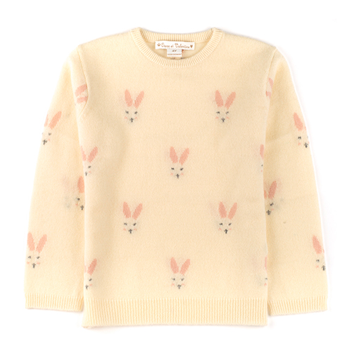 Pull cachemire Lapin