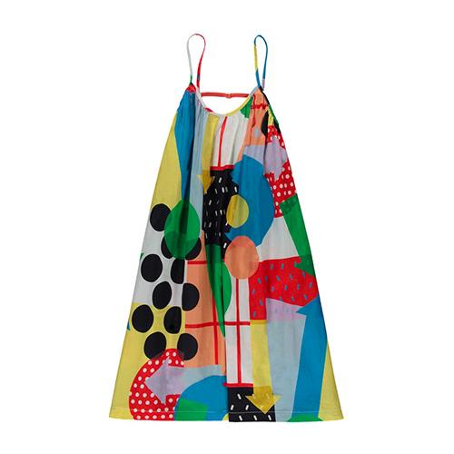 Robe bain de soleil multicolore