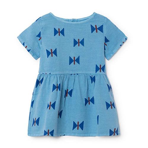 Robe bébé Papillon bleu