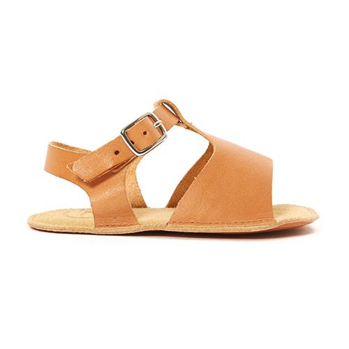 Sandales boucles camel