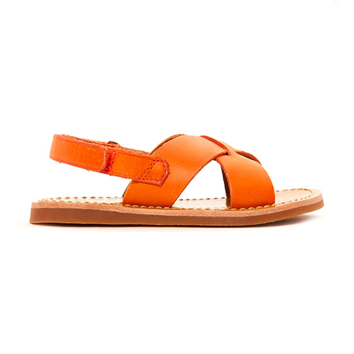 Sandales Cross orange