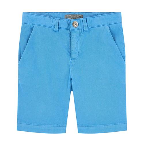 Short chino bleu roi