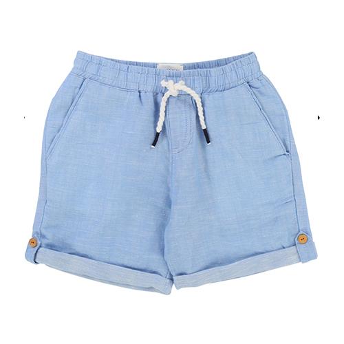 Short coton et lin
