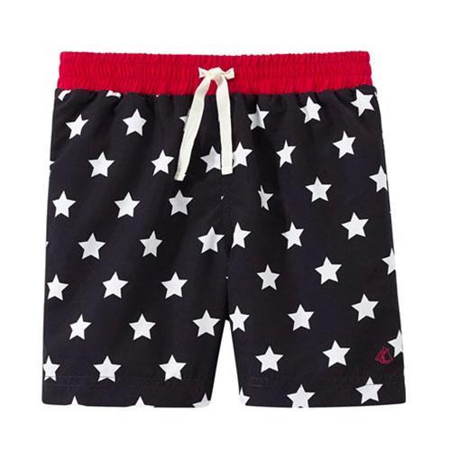 Short de bain étoiles
