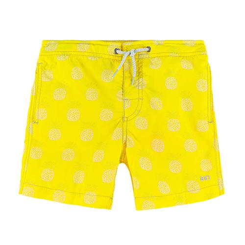 Short de bain jaune