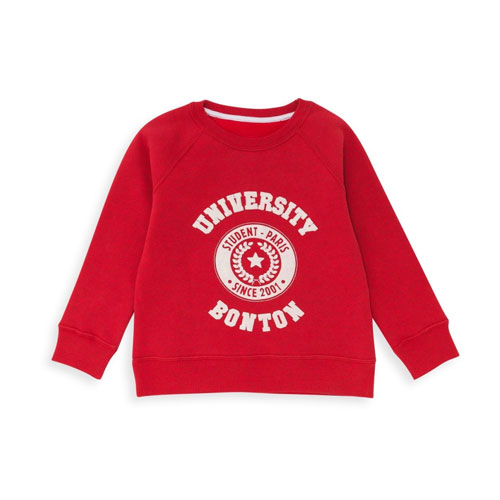 Sweat University rouge