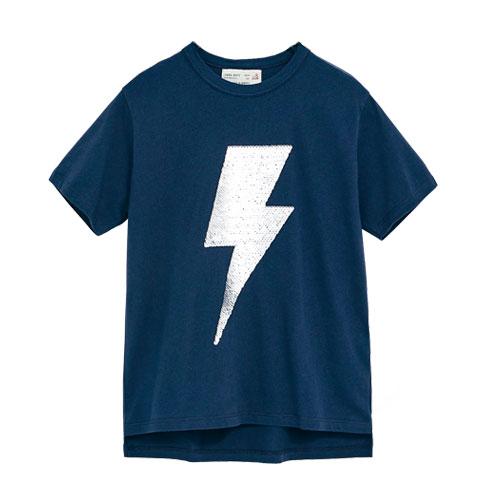 T-shirt éclair