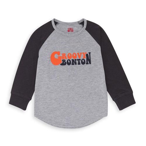 T-shirt Groovy gris