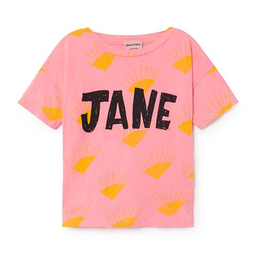 T-shirt Soleil Jaune