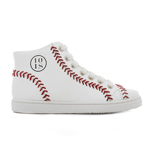 Tennis Base Ball Nappa White