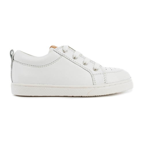 Tennis Base Lo Cut Nappa White