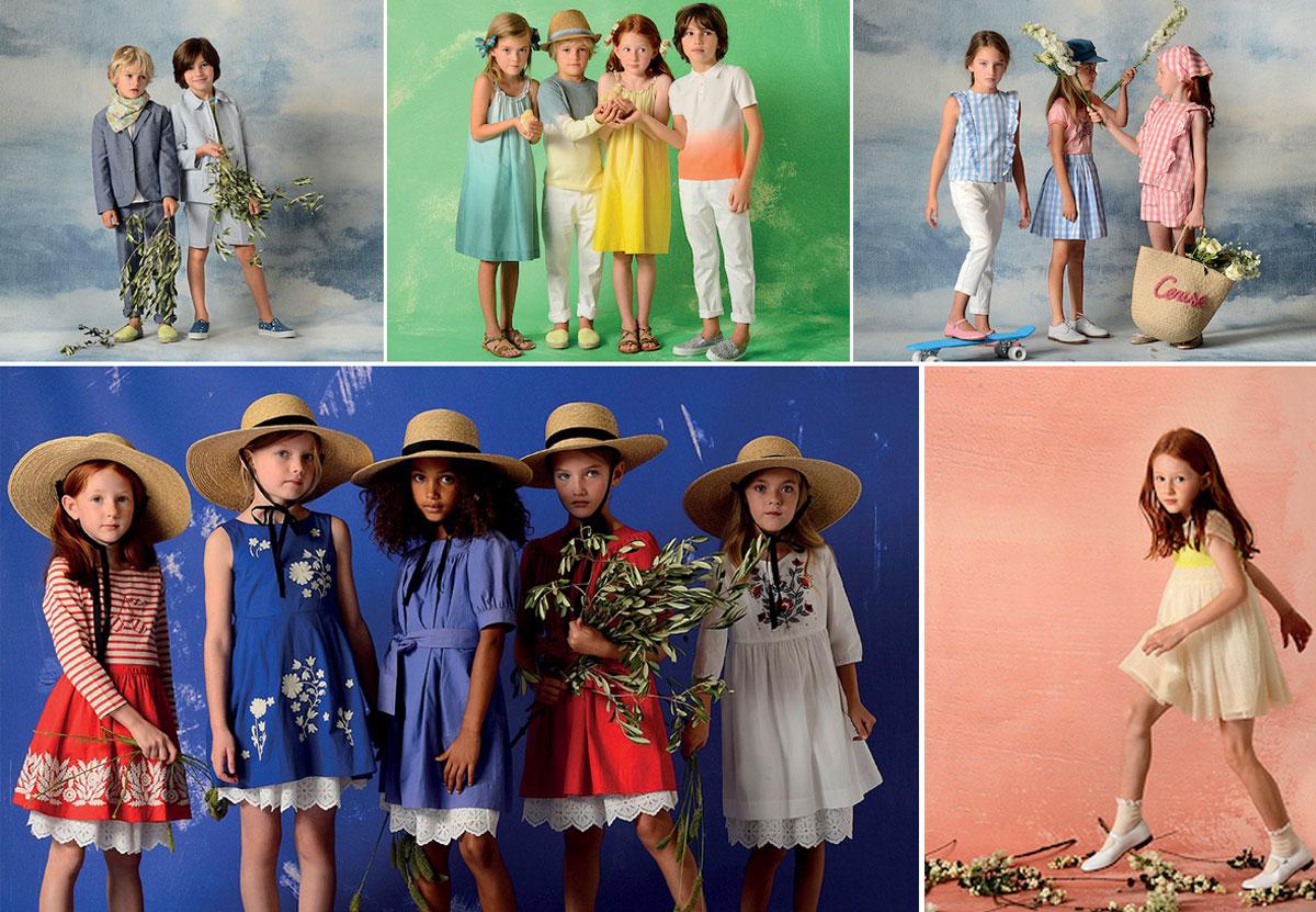 Bonpoint Collection printemps ete 2018
