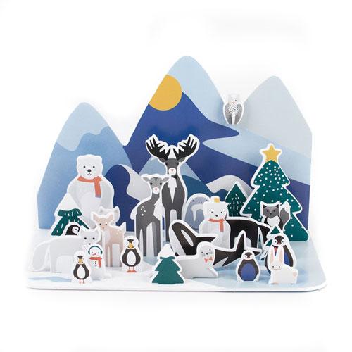 Calendrier de l'avent - animaux polaires