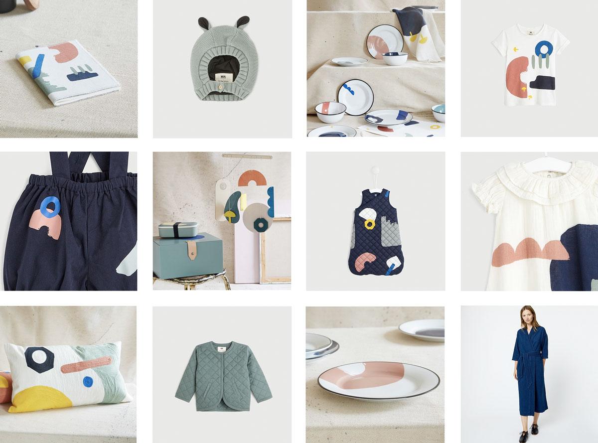 Back to work, la collection capsule 2018 Milk x Monoprix