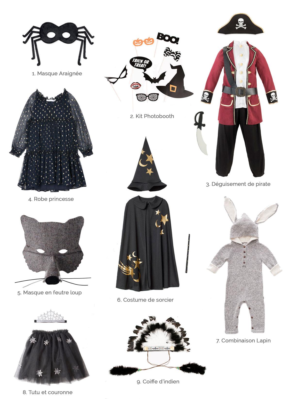Sélection spéciale déguisements Halloween