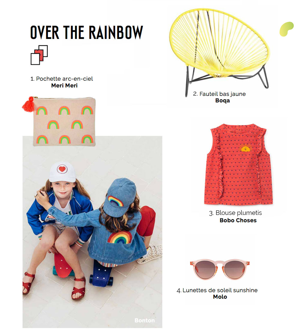 Tendance Over the Rainbow