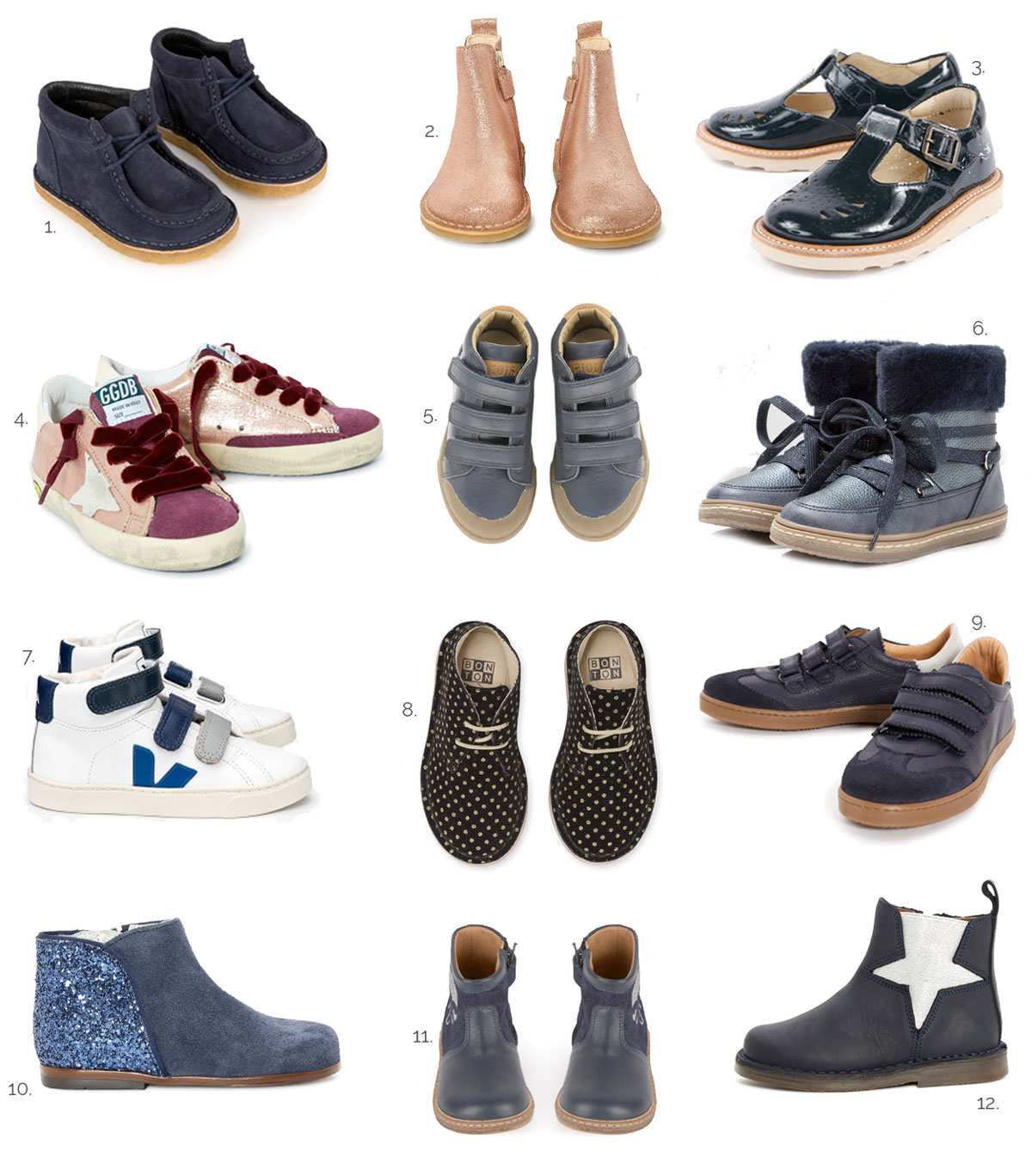 Selection des plus jolies chaussures d'hiver