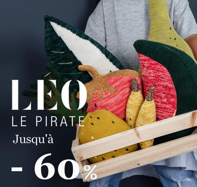 Soldes Léo le pirate