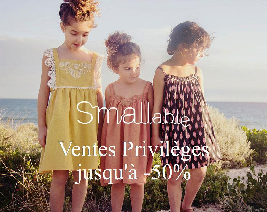 Ventes privilèges Smallable