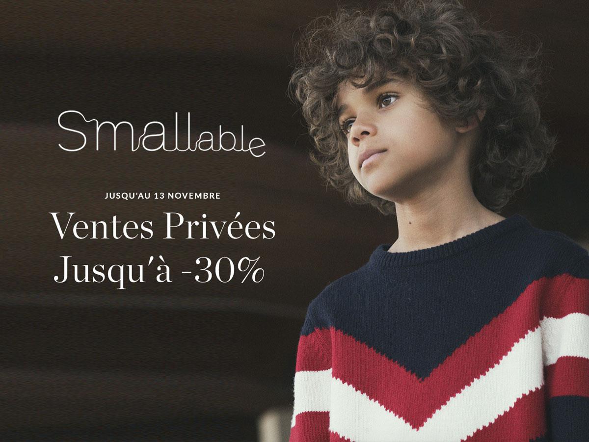 Ventes privées Smallable