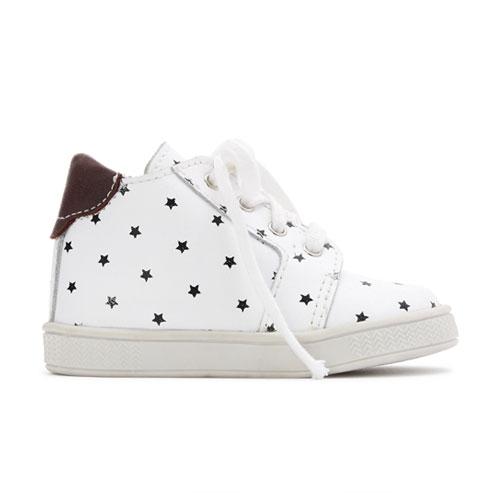 Baskets lacets étoiles