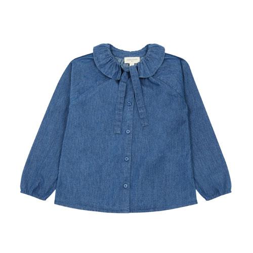 Blouse Angèle bleu jean